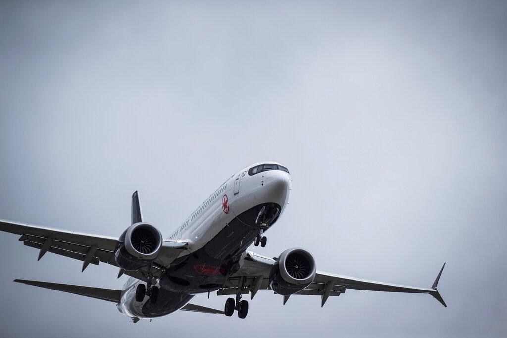 波音737 MAX停飞欧洲领空。Ap图片
