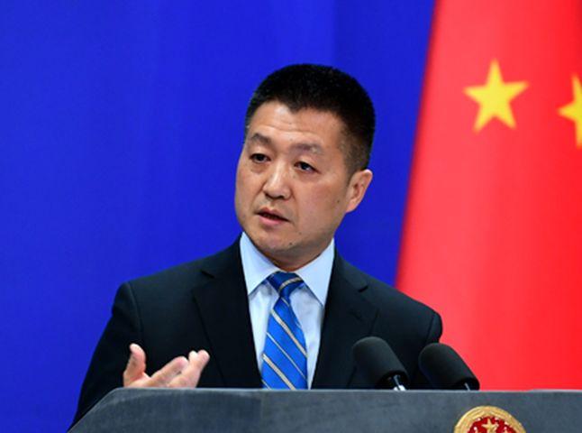 陆慷强调,中欧开展互利合作符合双方共同利益。中国外交部网页图片