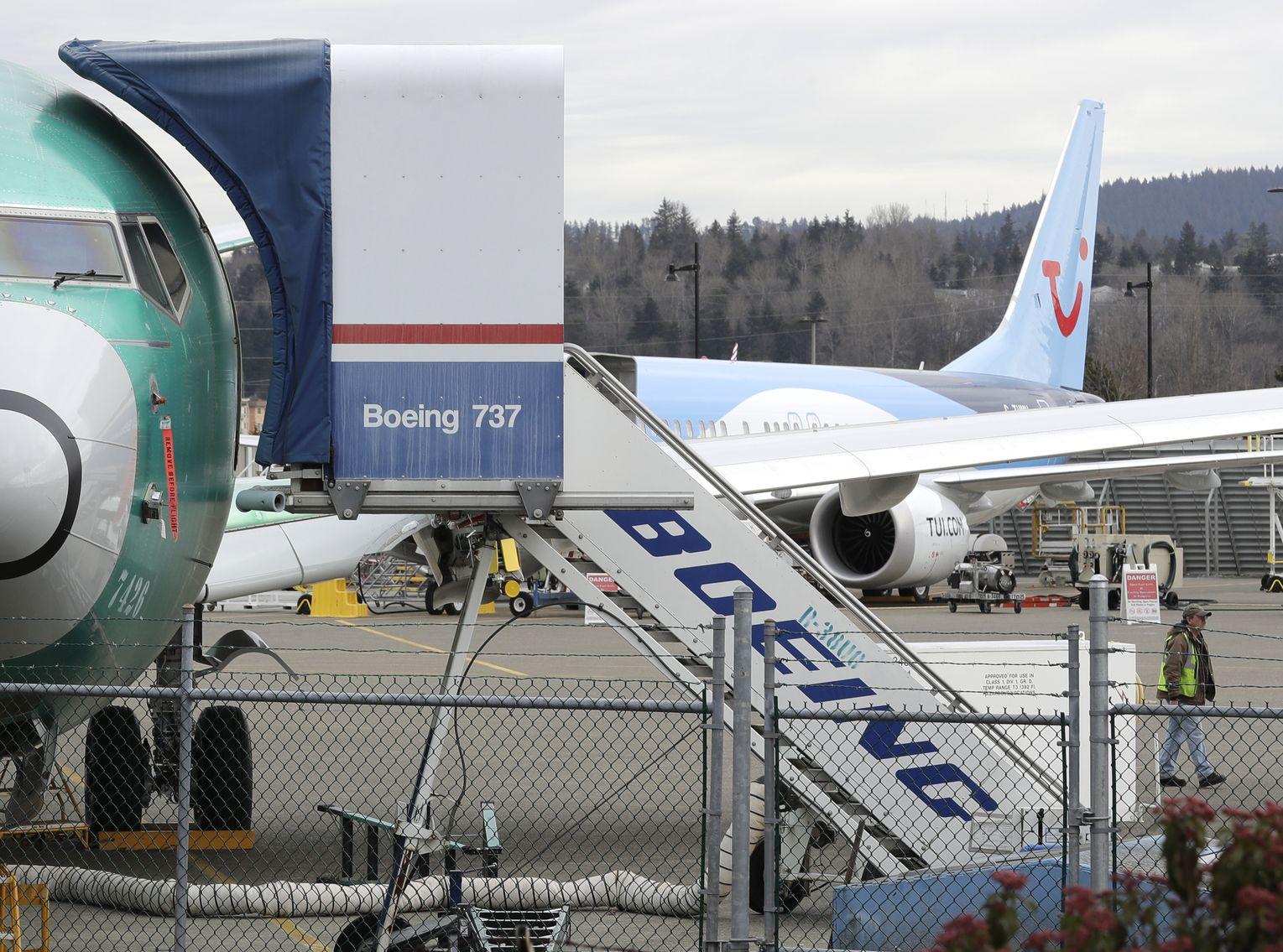 泰國民用航空主管機構宣布,出於安全考量禁飛波音737 Max 9飛機。AP