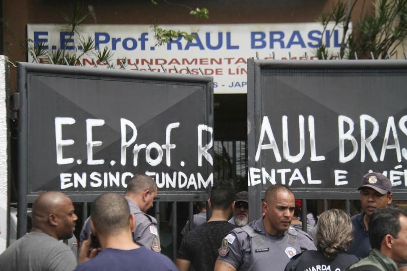 巴西聖保羅發生校園槍擊,最少9死17傷。AP