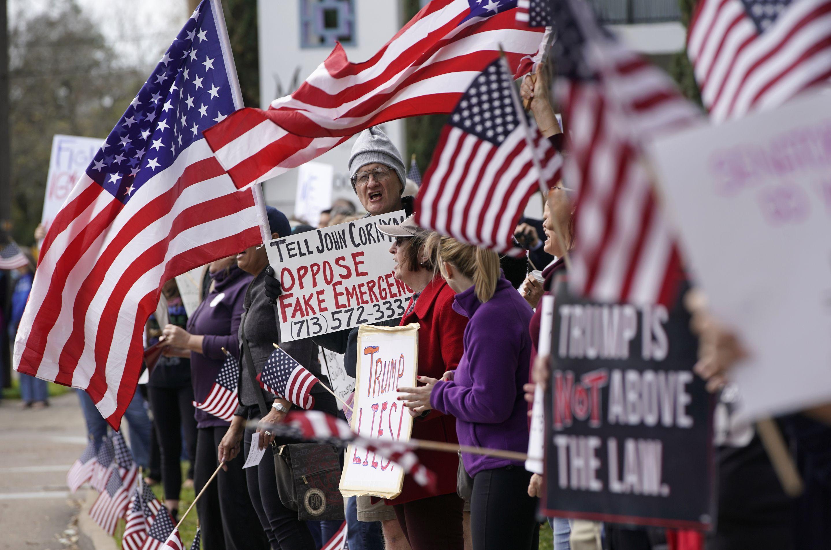 北京国务院批评美国公民权利屡遭践踏。AP图片