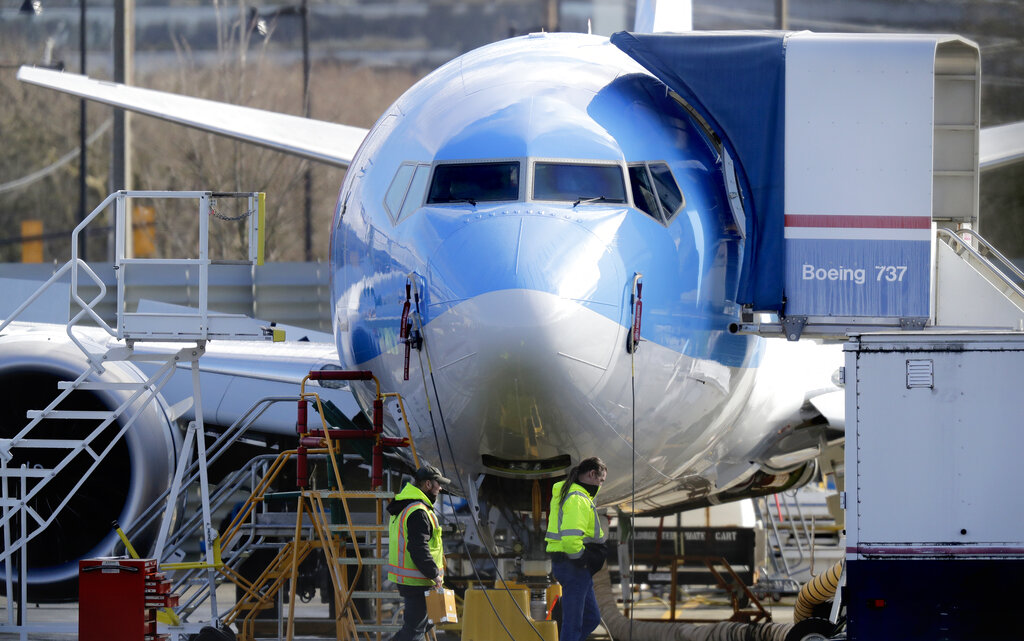 目前中华航空、长荣航空等航空公司都未购买737 MAX 飞机。AP图片