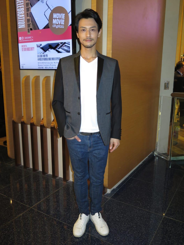 栢天男憑《L風暴》入圍金像獎「最佳新演員」,坦言不敢奢望奪獎。