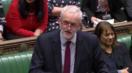 英國下議院通過動議押後脫歐