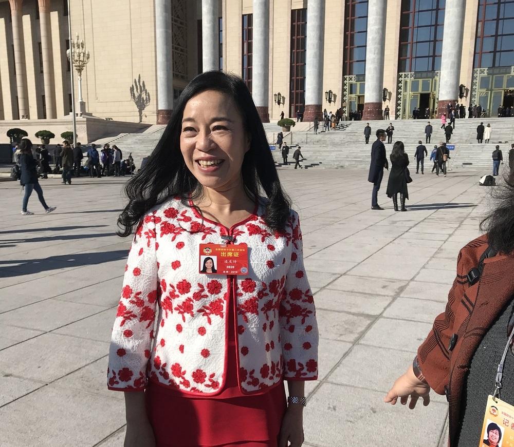凌友詩被台灣罰50萬元台幣。資料圖片