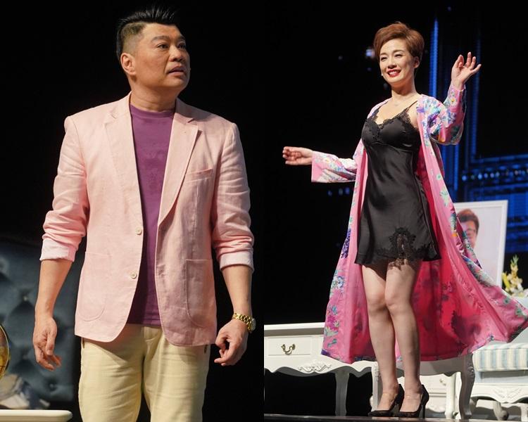 阮兆祥大讚江美儀甚得新加坡觀眾歡心。