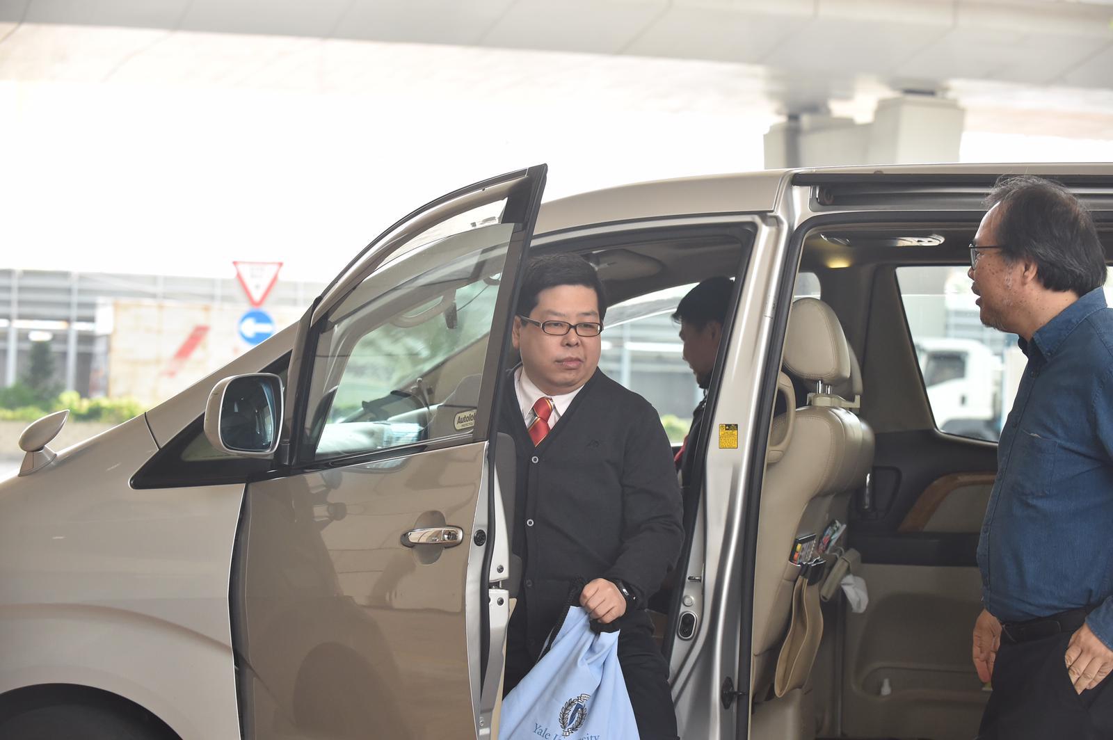 林子健被控虛報有人犯罪受審,案件今午在西九龍裁判法院裁決。郭顯熙攝