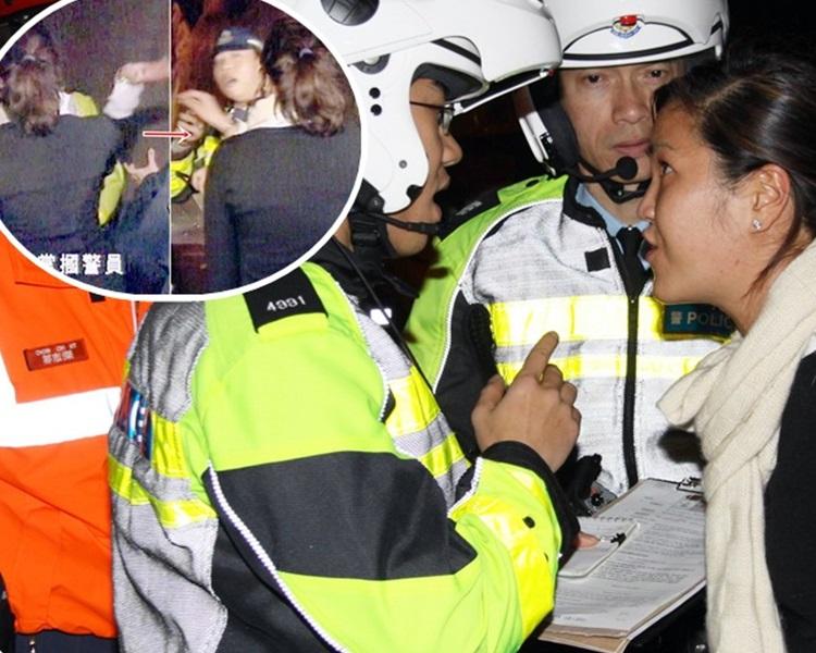包致金侄女多年前因酒駕摑警成為新聞人物。資料圖片