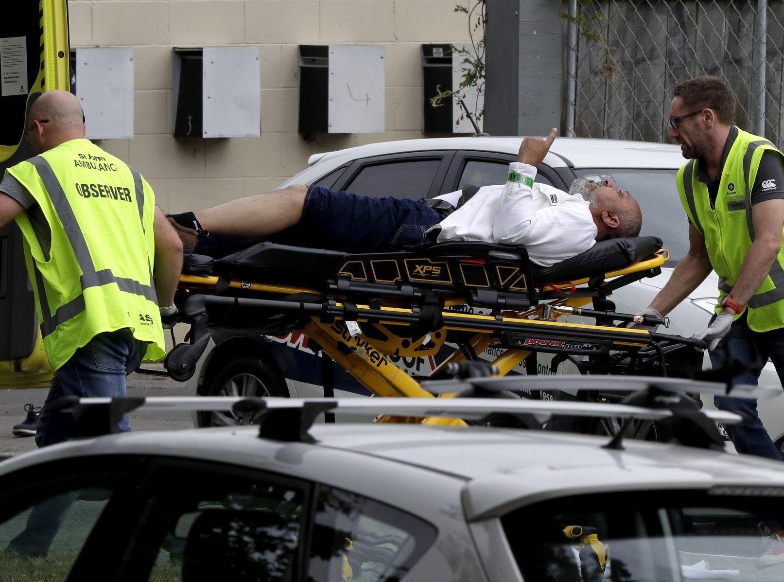 基督城發生連環槍擊案,造成最少49人死亡。AP