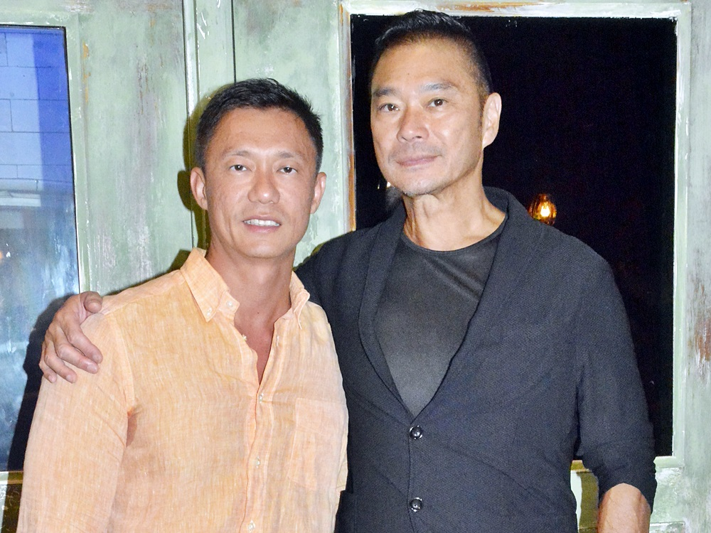 鄧達智(右)去年與陳梓欣新婚兩個月後感身體不適。資料圖片