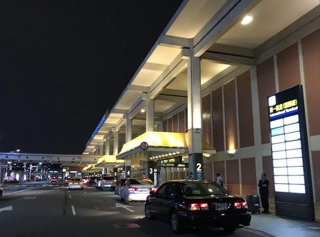 有無人機兩度闖入台北松山機場。網圖