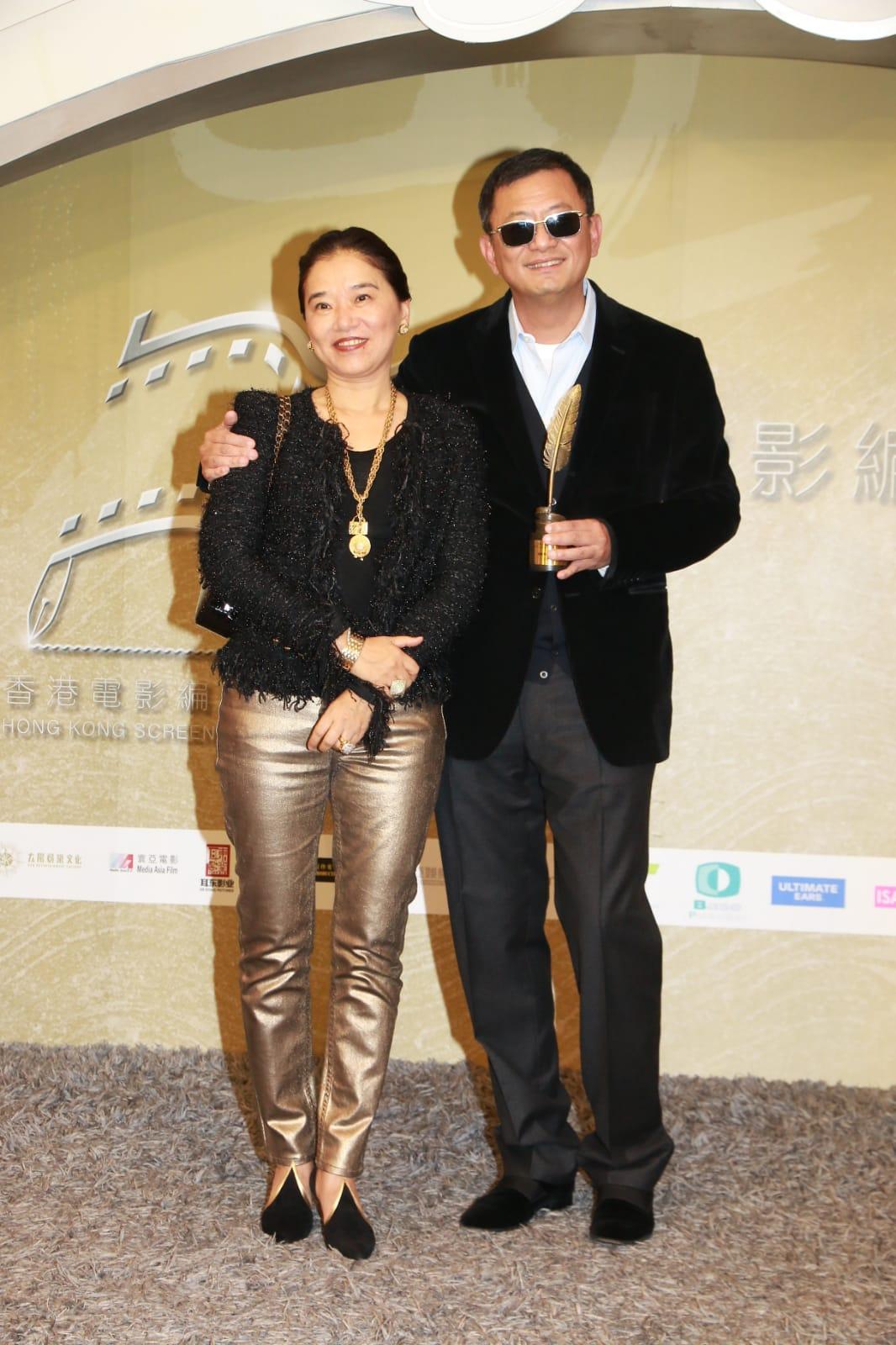王家衛獲電影編劇家協會頒發「榮譽大獎」。