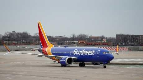 波音737 MAX系列客機近日連番出事。資料圖片