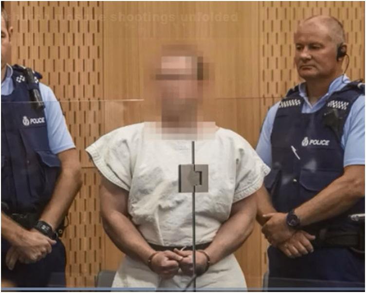 28歲澳洲男子塔蘭特被控謀殺押到法院提堂。網圖