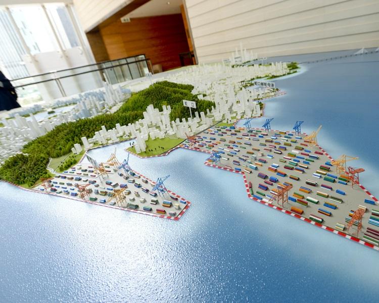 大湾区将补贴中港个人所得税差,以吸引香港人才。图为前海深港现代服务业合作区规划模型