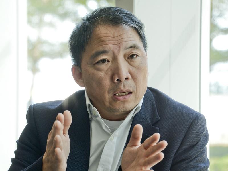 胡志偉表示民主派會維護香港人的利益。伍明輝攝