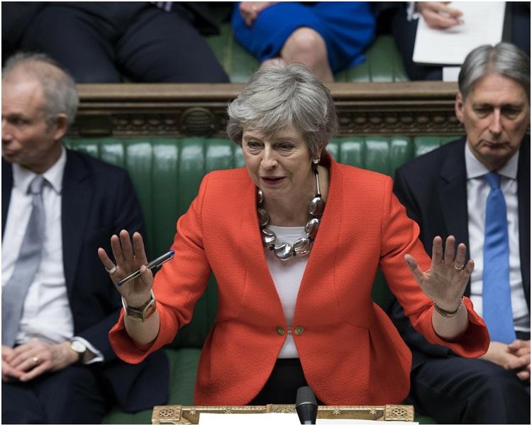 文翠珊警告国会议员若不通过修订版可能要长时间延迟脱欧。