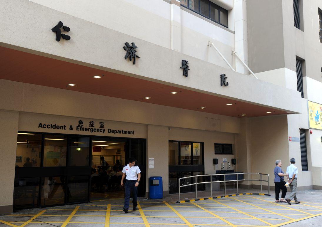 男事主被送往仁濟醫院搶救,惜終告不治。資料圖片