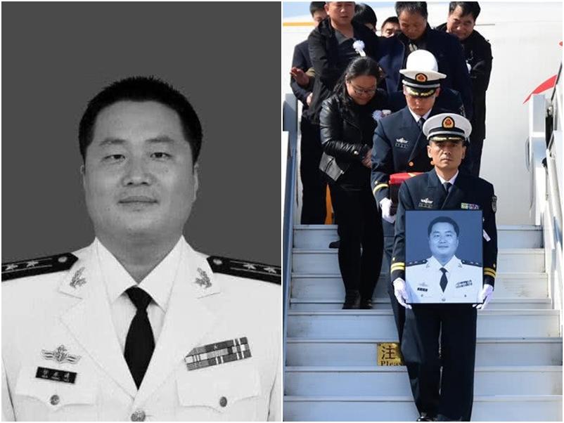 任永涛是海军航空兵飞行员。网图