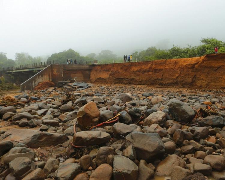 莫桑比克灾情严重。