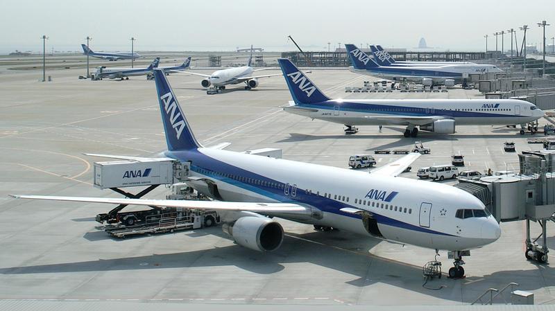 获第1名的日本航空公司全日空,于2010年更取代日本航空,成为日本第一大航空公司。 资料图片