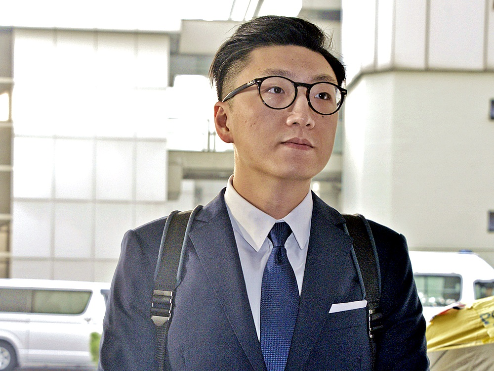 梁天琦涉及的旺角砵兰街暴动案,陪审团退庭商议至今仍未有结果。资料图片
