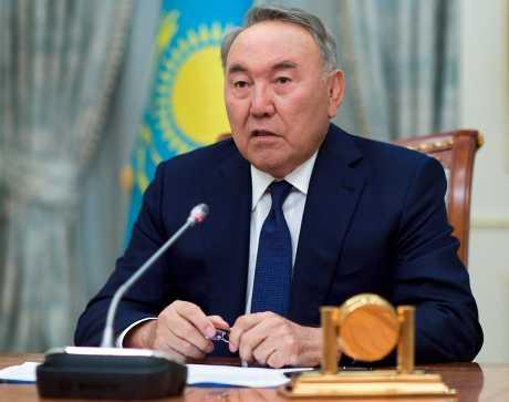 哈薩克總統納札爾巴耶夫已執政29年。資料圖片