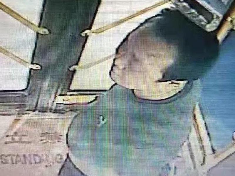 邢台涉嫌毆打巴士女司機的男乘客。(網圖)