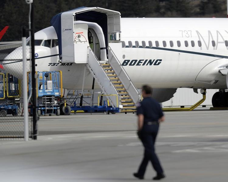 波音737 MAX 8客機。AP