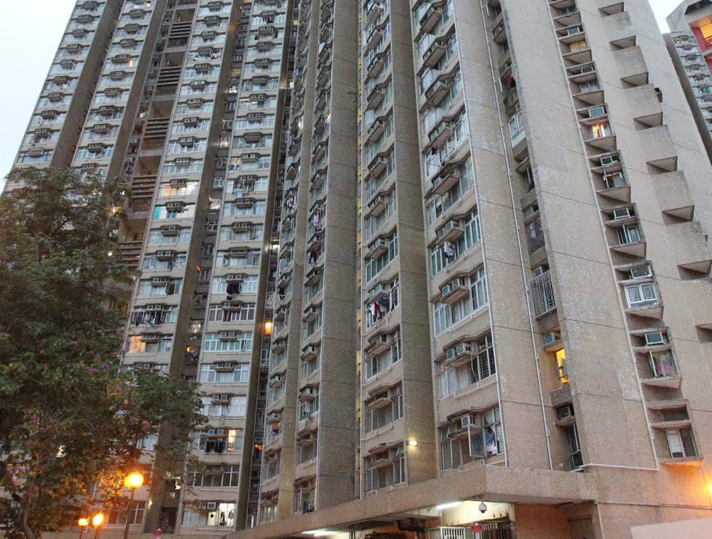 太和邨居和樓。 資料圖片