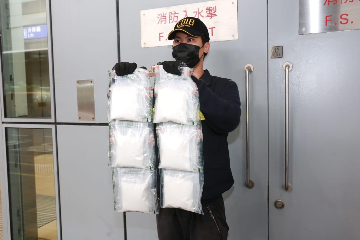 德國寄港郵包藏100萬元K仔