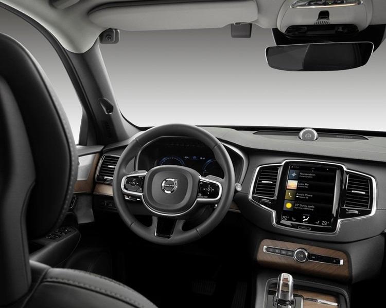 Volvo推车内感应器侦测司机专注状态。网图