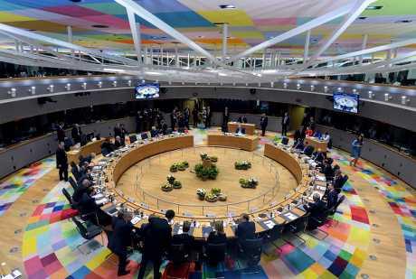 欧盟成员国领导人在布鲁塞尔召开峰会。