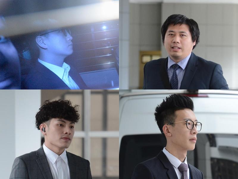 左上:梁天琦、容伟业;左下:李诺文、林傲轩。 资料图片