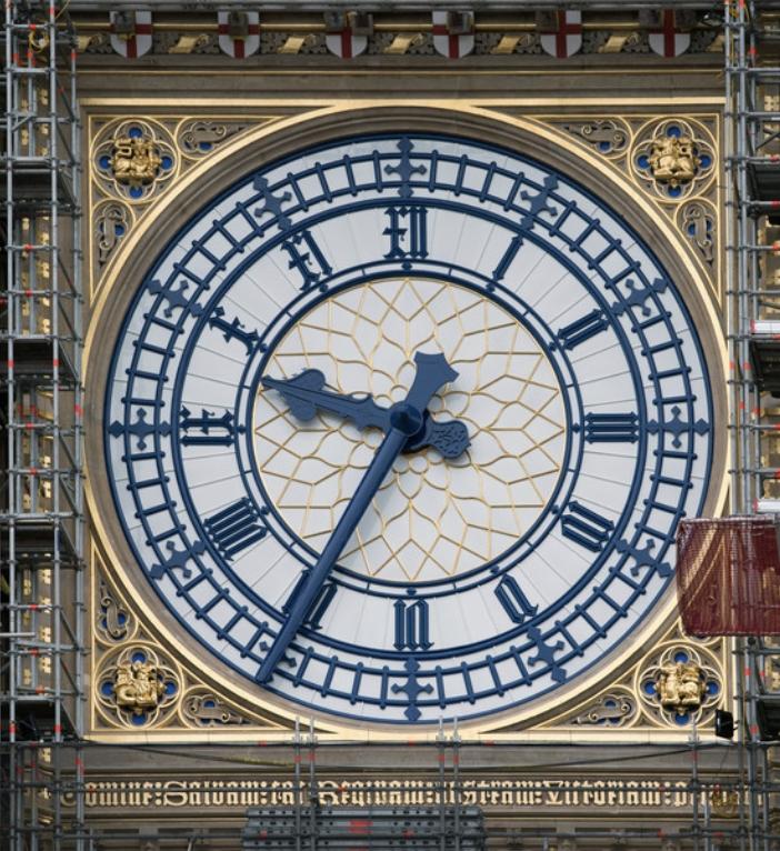 网民对于大笨钟的新面貌也相当讚赏,认为蓝金配色的大笨钟比以前更美。 UK Parliament Twitter图片