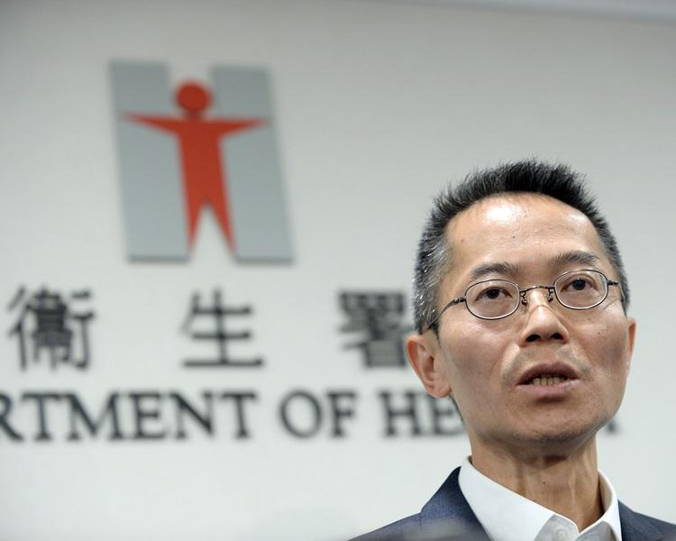黄加庆指本港的麻诊个案有增加趋势。