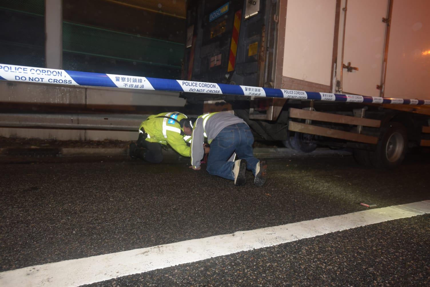 警方到场调查。