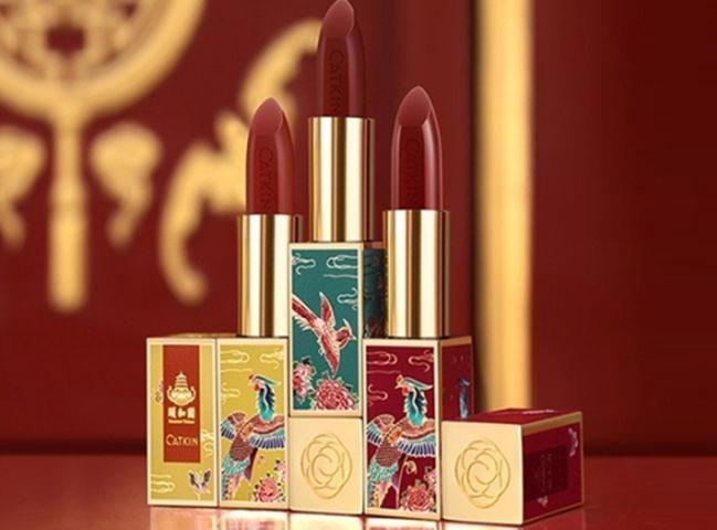 在多款彩妝品中,3款唇膏最受矚目。網圖