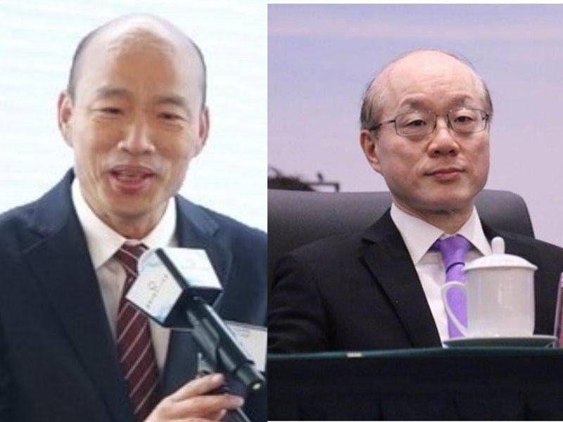 韓國瑜今晤國台辦主任 。(資料圖片)