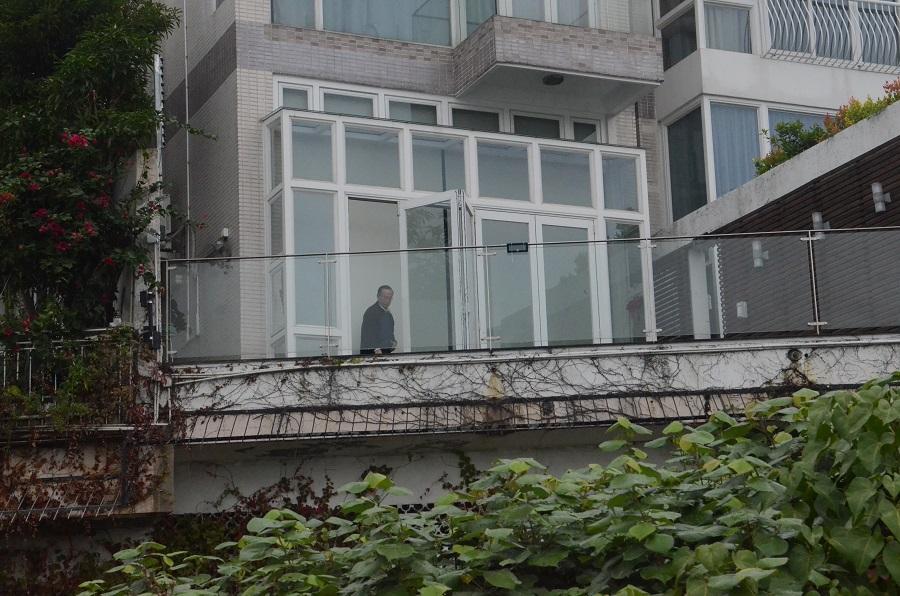 潘乐陶海诗别墅3号屋涉僭建。资料图片