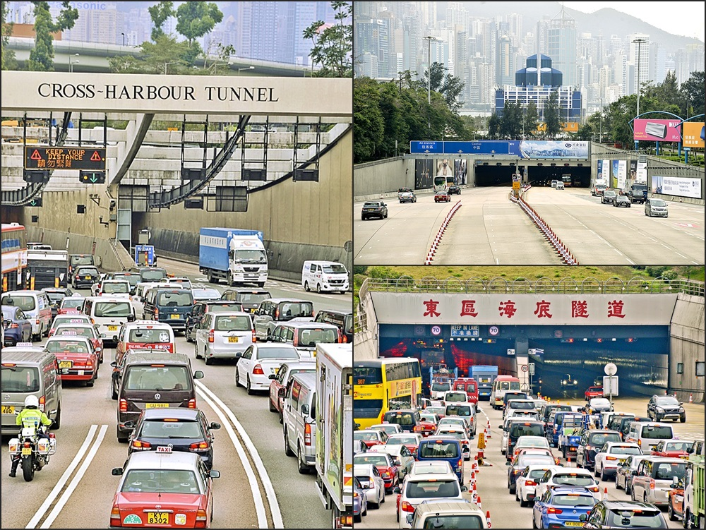 政府决定撤回三隧分流方案。资料图片