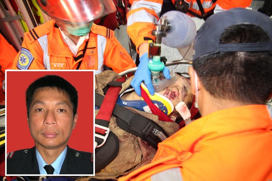 死者邱少明事发时与其余5名高空拯救队队员出动搜救,不幸堕崖身亡。资料图片