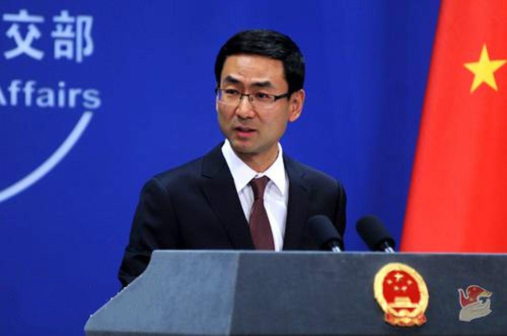 中國外交部發言人耿爽表示,無論日方怎麼說怎麼做都改變不了事實。  資料圖片