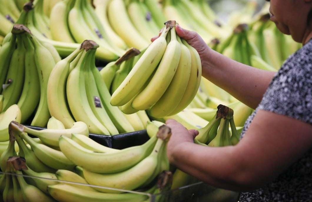食香蕉都要精明。AP圖片