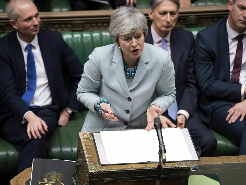 下议院将于今日就一系列选项表决,希望能打破目前的僵局。