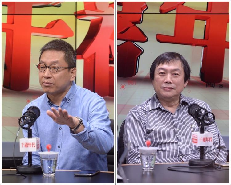 潘焯鴻(左);楊德忠(右)。