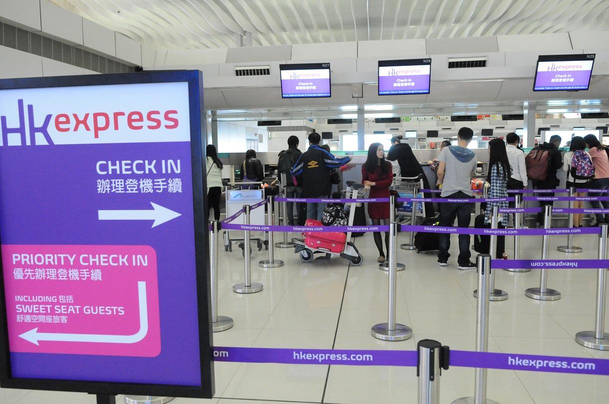 國泰航空以超過49億元收購香港快運。資料圖片