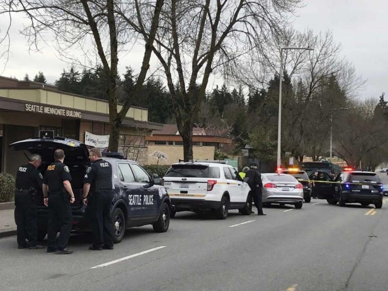 枪击案发生后,有一人遭执法单位拘留。