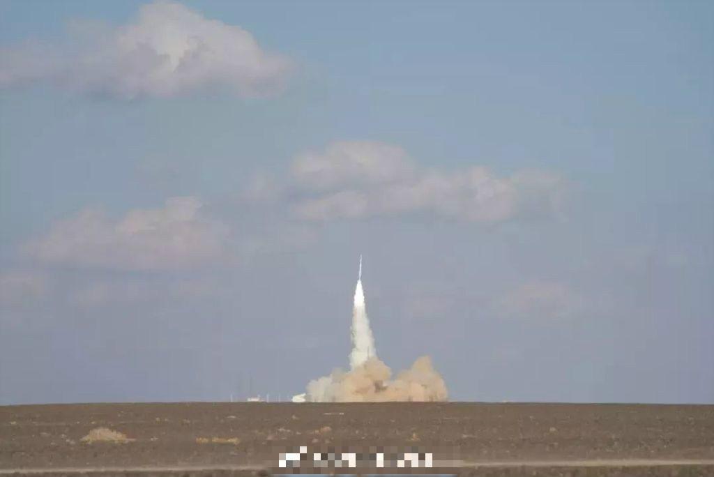 內地民營公司研製的火箭第二次軌道發射失敗。  微博圖片