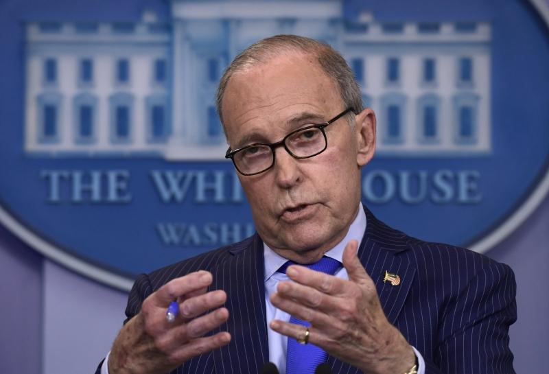 库德洛说,美国可能取消对中国的部分关税,但保留其余部分。AP